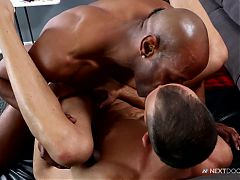 NextDoorEbony Big Black Cock for His Ass^7:54