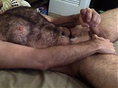 Hairy Wank and Cum^1:43