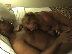 Granny Gets It On With Black Stud^2:13