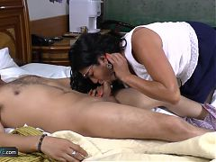 AgedLove mature latina Lucia toys and hardcore^8:27