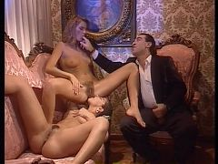 Threesome scene Inside Angelica Bella (1992) ^10:09