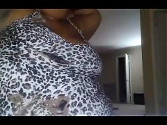 BBW Chubby Juicy Black Babe Dancing - Ass Shaking^1:50